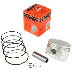 Kit Pistão com Anéis Riva 150 Speed 150 Kansas 150 1.00mm
