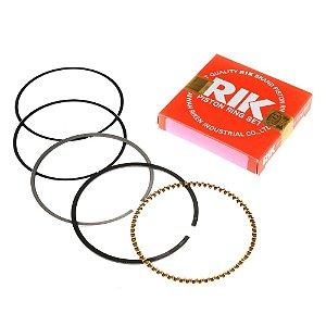 Anéis para Pistão Biz 125 2005 - Cg 125 2009 - Bros 125 2013 0.50 mm