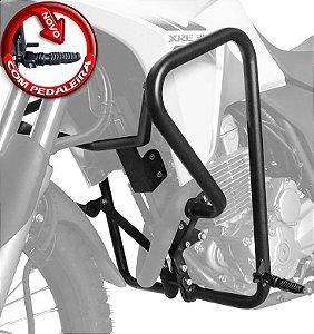 Protetor de Motor e Carenagem com Pedaleira XRE 300