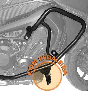Protetor de Motor e Carenagem com Pedaleira MT 09 Tracer 2015 em diante