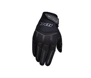 Luva Motociclista Fit X Touch Screen Tecido Respirável