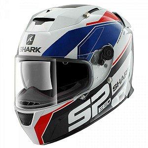 Capacete Motociclista Speed-R 2 Sauer WBR