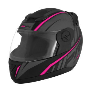 Capacete Fechado Evolution G6 788 Pro Rosa Neon