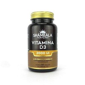 Vitamina D3 2000UI - Shambala