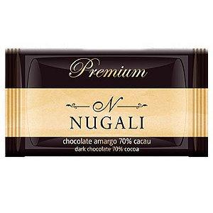 Mini Tablete Chocolate 70% Cacau - Nugali
