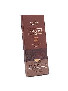 Chocolate ao Leite com Castanha do Pará - Nugali 100g