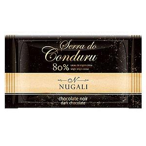 Mini Tablete Serra Conduru 80% Cacau - Nugali 5g