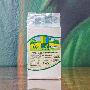 Farinha de Arroz Integral Orgânica - Cooper Natural 500g