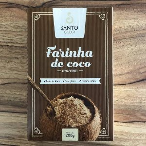 Farinha de Coco Marrom - Santo Óleo