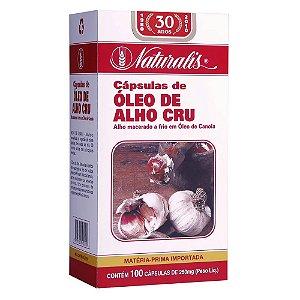 Cápsulas de óleo de alho cru – Naturalis