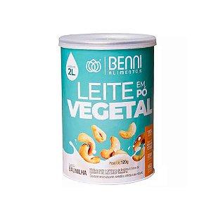 Leite em Pó Vegetal de Castanha de Caju Sabor Baunilha - Benni Alimentos