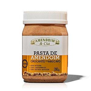 Pasta de Amendoim Crocante com Mascavo – Amendoim & Cia