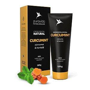 Creme Dental Curcumint - Cúrcuma e Hortelã - Puravida