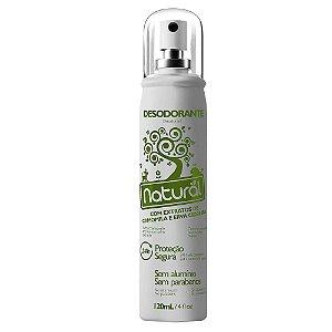 Desodorante com Extratos de Camomila e Erva Cidreira - Orgânico Natural