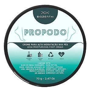 Propodo - Creme Para Alta Hidratação Dos Pés - Biozenthi