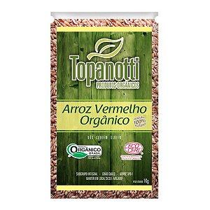 Arroz Vermelho Orgânico - Topanotti