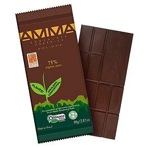 Chocolate Orgânico 75% Cacau - Amma