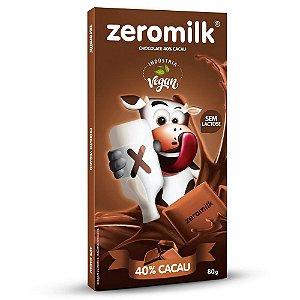 Chocolate Puro 40% Cacau - ZeroMilk