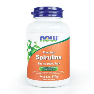 Premium Spirulina - Now Foods