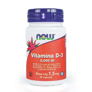 Vitamina D-3 - Now Foods