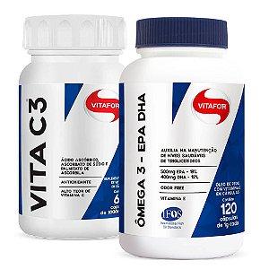 Kit Imunidade Ômega 3 + Vitamina C