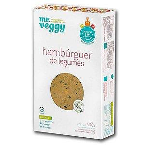 Hambúrguer de Legumes Mr. Veggy 400g (6 unidades) ❄