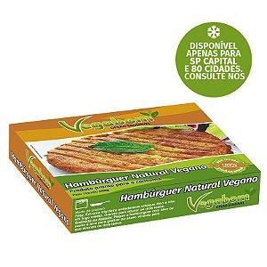 Hambúrguer Natural Vegano Vegabom 400g ❄