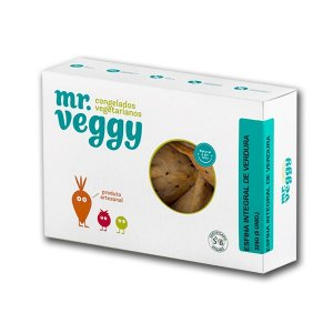 Esfiha Integral de Proteína de Verduras Mr. Veggy 360g (5 unidades) ❄