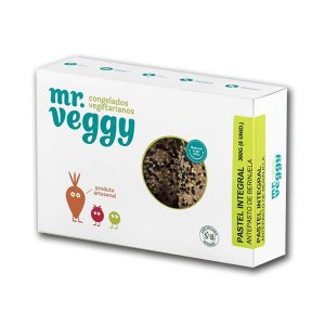 Pastel com Antepasto de Berinjela  Mr. Veggy 360g (5 unidades) ❄