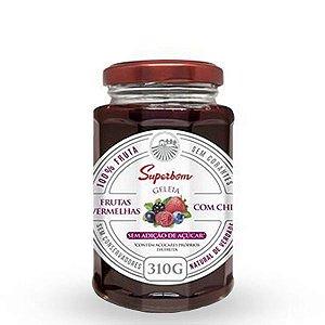 Geleia de Frutas Vermelhas com Chia Superbom 310g
