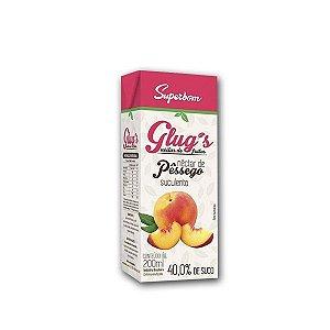 Suco Glug's Néctar Pêssego Superbom 200ml