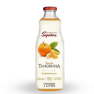 Suco de Tangerina 100% Fruta Superbom Garrafa 1L