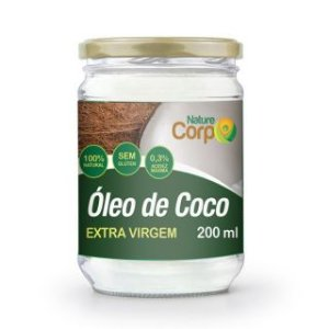 Óleo de Coco Extra Virgem Nature Corp 200ml