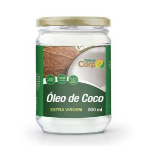 Óleo de Coco Extra Virgem Nature Corp 500ml