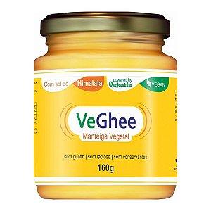 Manteiga Vegetal Veghee com Sal do Himalaia 160g