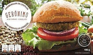 Hambúrguer de Lentilha com Sementes de Girassol Gerônimo 400g❄