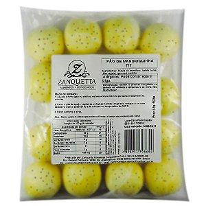 Pão de Queijo de Mandioquinha Multigrãos Zanquetta (17 unidades) 500g❄