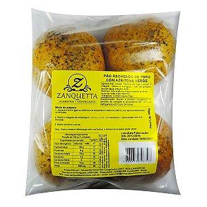 Pão com Tofu e Azeitona Verde Zanquetta (4 unidades) 480g ❄