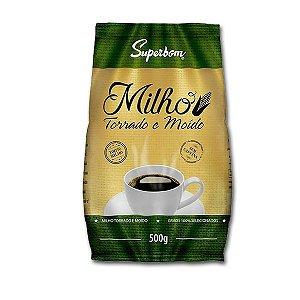 """Milho Torrado e Moído tipo """"Café"""" Superbom 500g"""