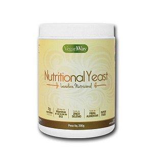 Nutritional Yeast Em Pó (Levedura Nutricional) Sabor Natural VeganWay 200g