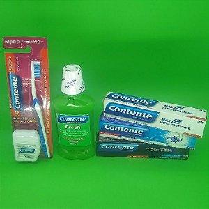 Kit Higiene Bucal Contente