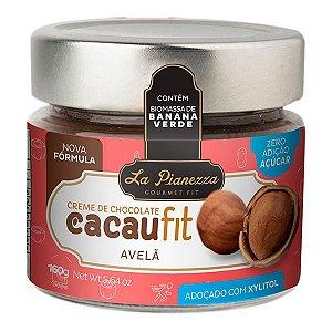 Creme de Chocolate com Avelã Cacaufit La Pianezza 160g