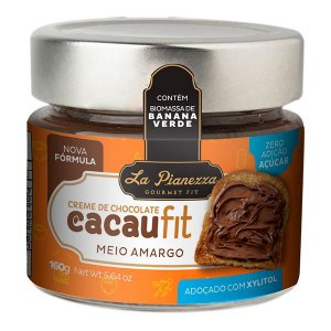 Creme de Chocolate Meio Amargo Cacau Fit La Pianezza 160g