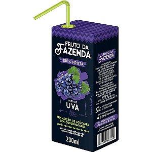 Suco de Uva 100% Fruto da Fazenda Superbom 200ml