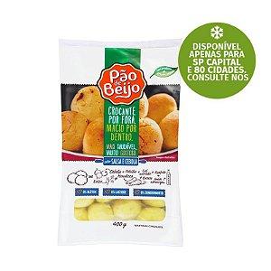 Pão de Beijo (Pão de Queijo) Sabor Salsa e Cebola 400g ❄