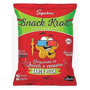 Snack Kroc de Quinoa Sabor Pizza Superbom 45g