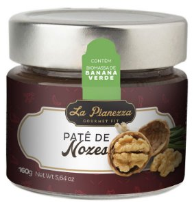 Patê de Nozes Gourmet La Pianezza 160g