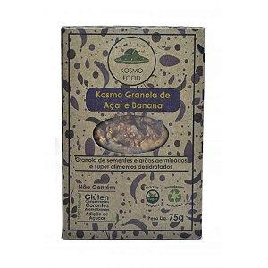 Cracker Vivo de Granola de Açaí e Banana Kosmo Food 75g