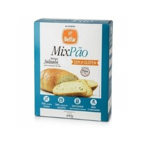 Mix Pão Mistura Salgada para Preparo de Pão Belfar 400g