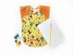 Kit Avental sem manga Impermeável + Pintura